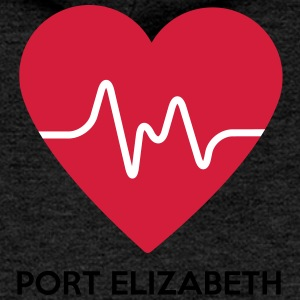 Heart Port Elizabeth - Women's Premium Hooded Jacket
