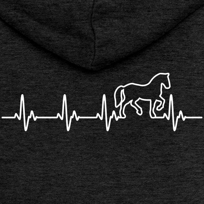 Vorschau: Horse Heartbeat - Frauen Premium Kapuzenjacke