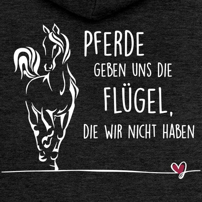 Vorschau: Pferd Flügel - Frauen Premium Kapuzenjacke