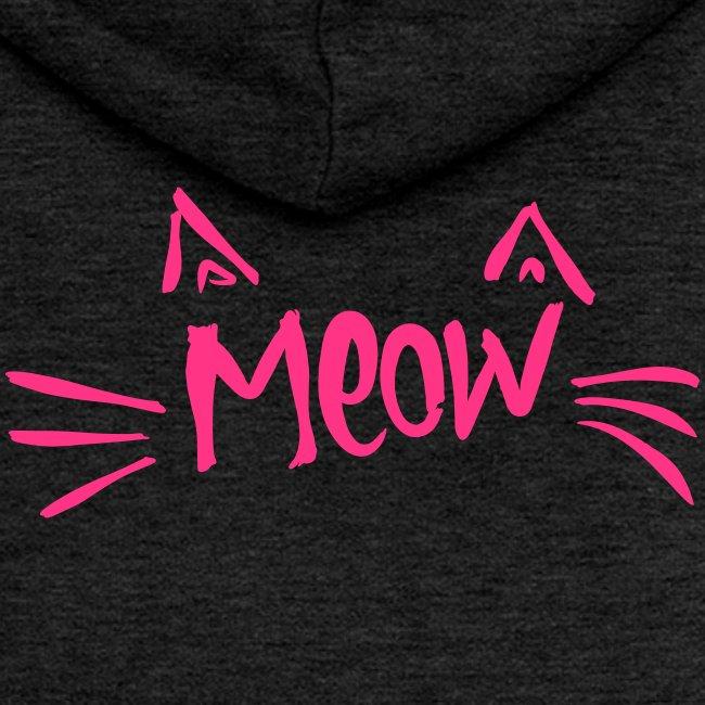 Vorschau: meow2 - Frauen Premium Kapuzenjacke