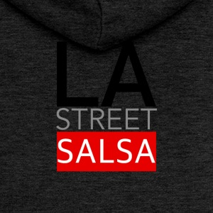 LA STREET SALSA - on DanceShirts - Women's Premium Hooded Jacket
