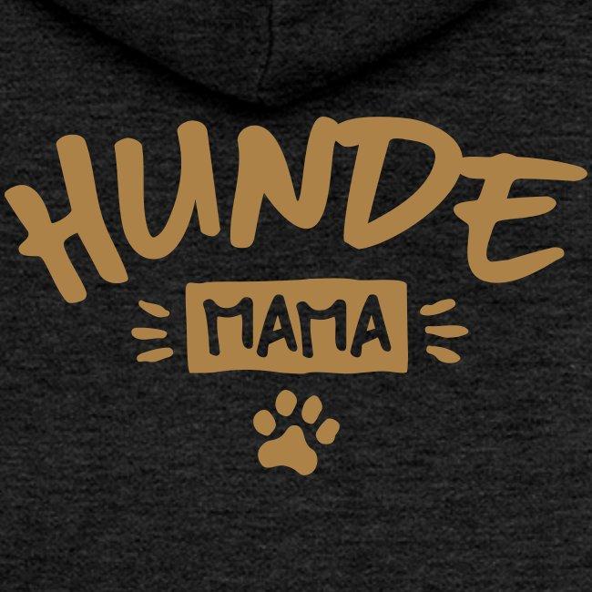 Vorschau: Hunde Mama - Frauen Premium Kapuzenjacke
