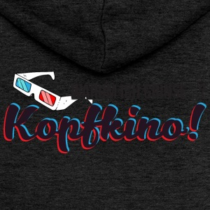 Why I smile? Kopfkino! (3D glasses) - Women's Premium Hooded Jacket