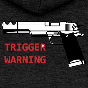 Anti-Snowflake Trigger Warning Collection - Women's Premium Hooded Jacket