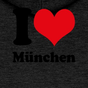 I love Munich - Women's Premium Hooded Jacket