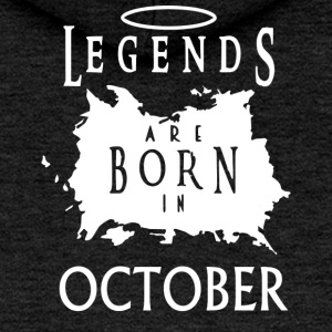 Legends October Birthday - Women's Premium Hooded Jacket