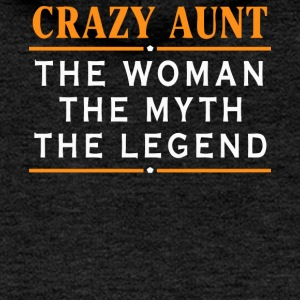 Crazy Aunt gift shirt - Women's Premium Hooded Jacket