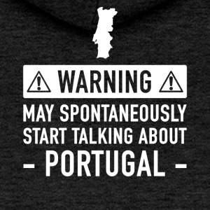 Portugal Funny Gift Idea - Women's Premium Hooded Jacket