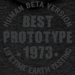 1973 - The year of birth of legendary prototypes - Women's Premium Hooded Jacket