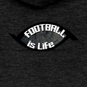 football is life - Women's Premium Hooded Jacket