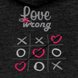 LOVE IS WRONG - Frauen Premium Kapuzenjacke