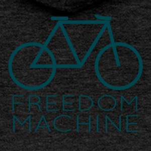 Bicycle: Freedom - Women's Premium Hooded Jacket