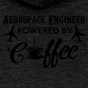 AEROSPACE ENGINEER POWERED BY KAFFE - Dame Premium hættejakke