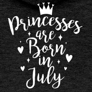 Princesses are born in July - Women's Premium Hooded Jacket
