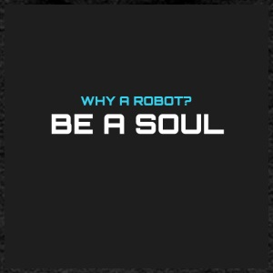 Why a robot? BE IN SOUL - Women's Premium Hooded Jacket
