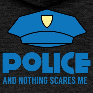 Police: Police And Nothing Scares Me - Women's Premium Hooded Jacket