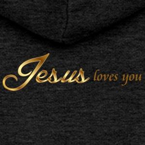 Jesus loves you - Women's Premium Hooded Jacket
