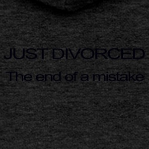 JUST DIVORCED, THE END OF A MISTAKE - Women's Premium Hooded Jacket