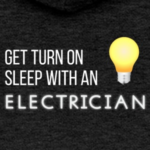 Electricians: Get turn on sleep with at Electrician - Women's Premium Hooded Jacket