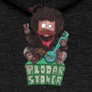 plodar stoner colored - Felpa con zip premium da donna