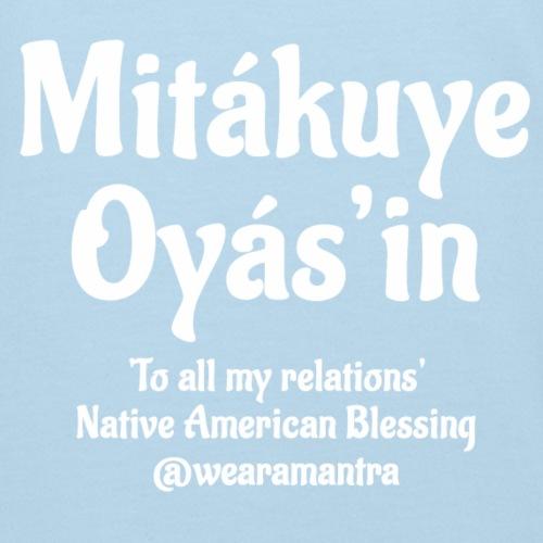 Mita kuye Oyas'in 2 white - Maglietta ecologica per bambini