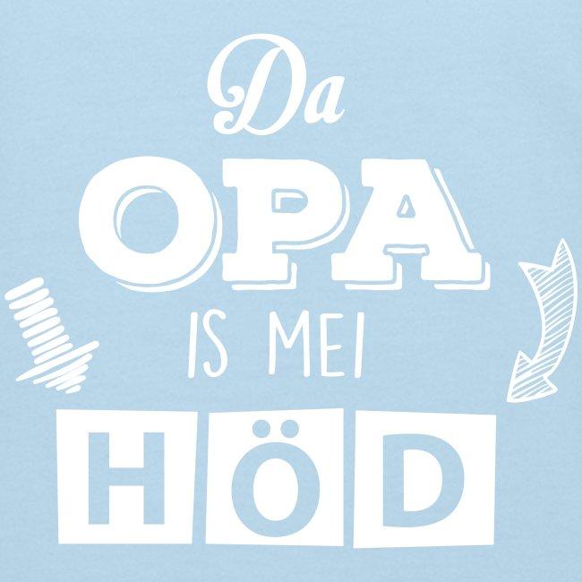 Vorschau: Da Opa is mei Höd - Kinder Bio-T-Shirt