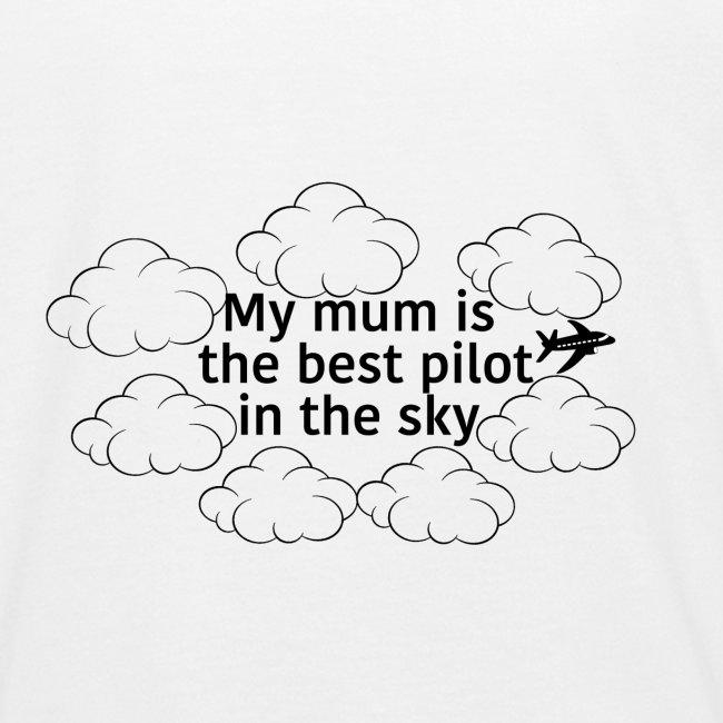 My mum black