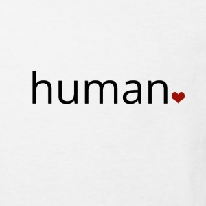 Human - more than just a print. - Kids' Organic T-shirt