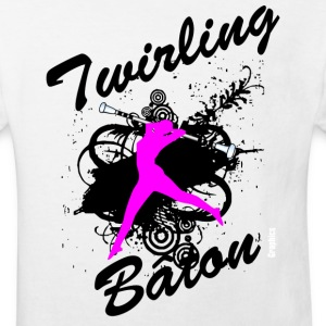 BATON TWIRLING - Kids' Organic T-shirt