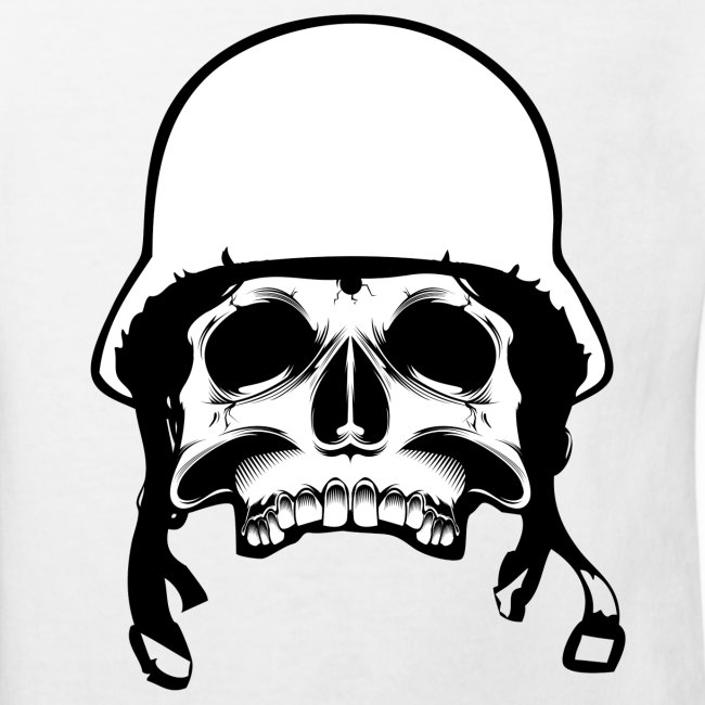 Soldier Helmet Skull 2c
