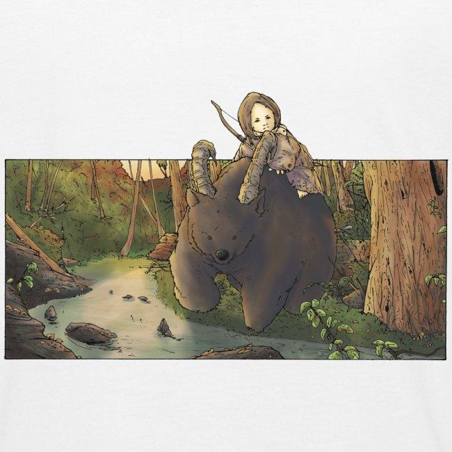 Orso e bambina - Wandering Claw