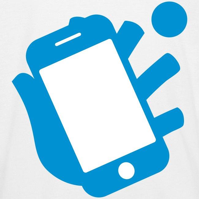 Smartphone-Tennis Logo Print