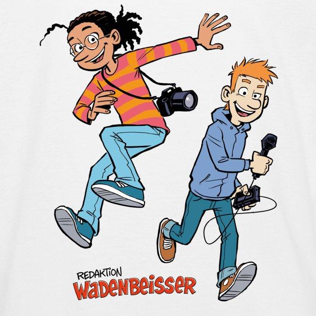 GEOlino Wadenbeißer-Comic: Redaktionsteam im Einsa
