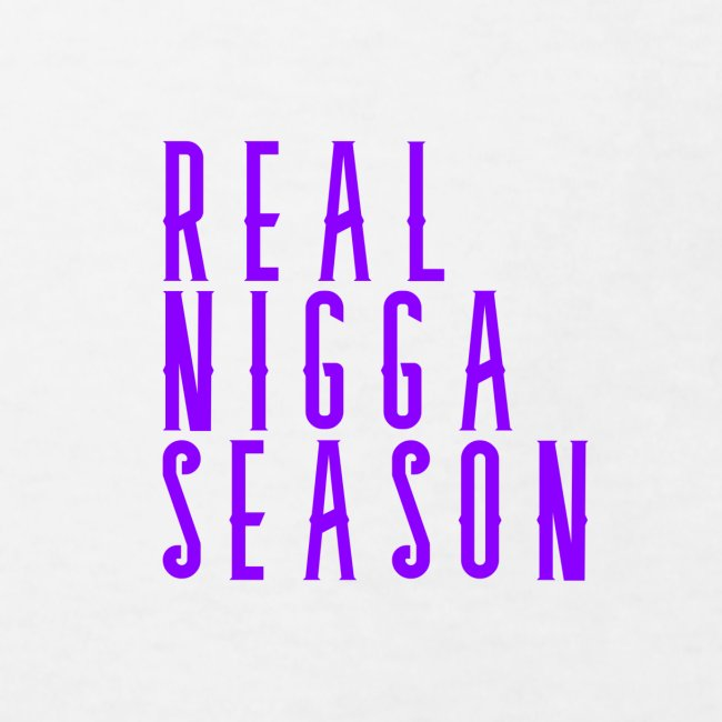 real nigga season paars
