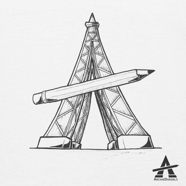 Tour Eiffel Crayon