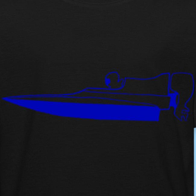 Powerboat GT30/GT15 Blue flip
