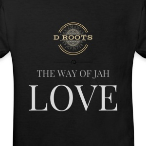 DRoots Way of Jah Love - Kids' Organic T-shirt