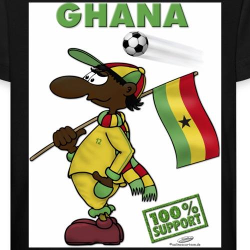 Fan Ghana - Kinder Bio-T-Shirt