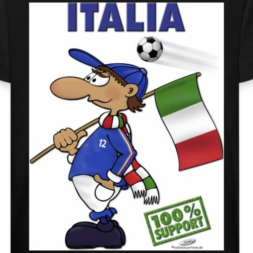 Fan Italia - Kinder Bio-T-Shirt