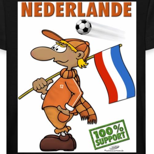 Fan Nederlande - Kinder Bio-T-Shirt