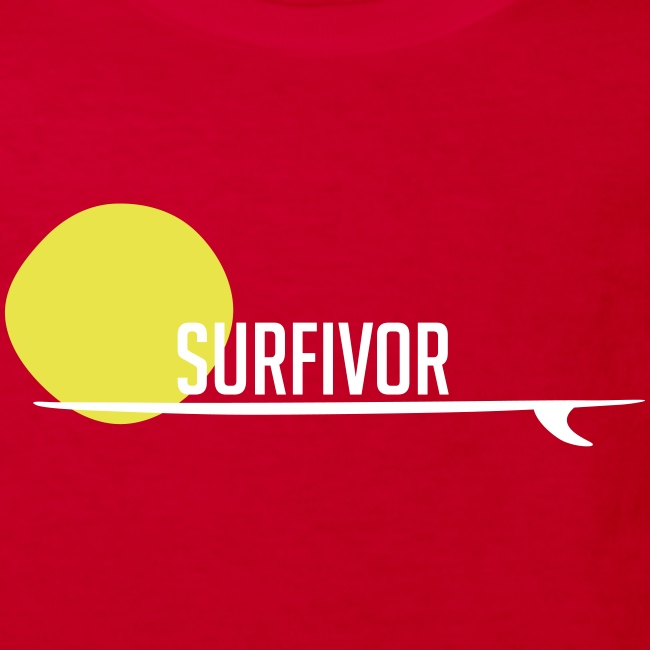 Surfivor surf logo met zon