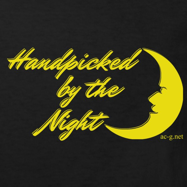 Handpicked design By The Night - Logo Yellow