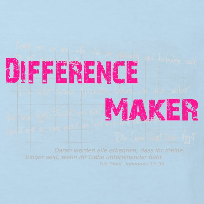 Difference Maker pink