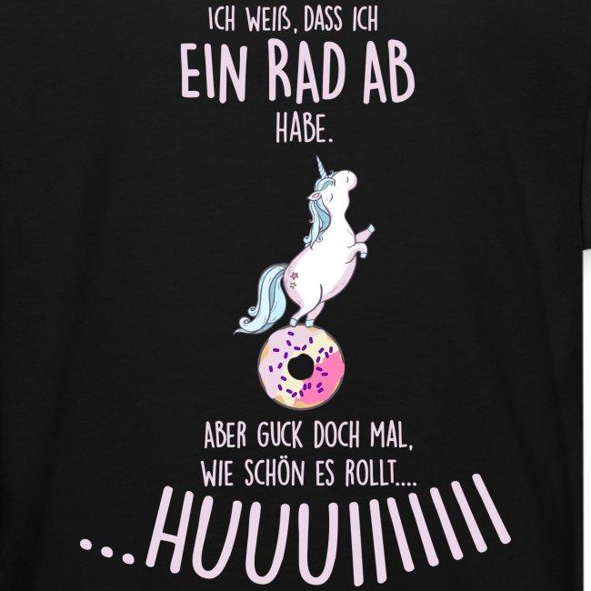 Vorschau: rad ab_einhorn - Kinder Bio-T-Shirt