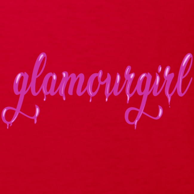 Glamourgirl dripping letters