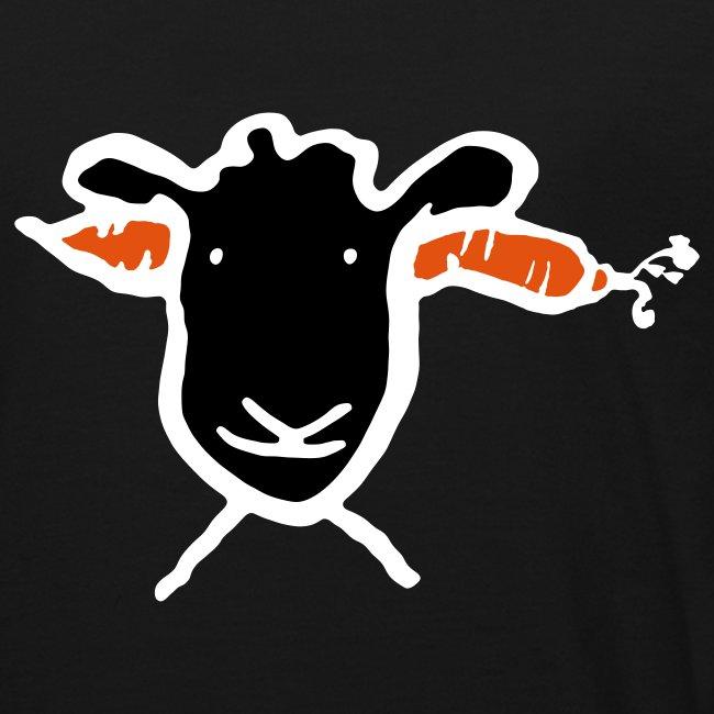 Krasses Möhren Schaf