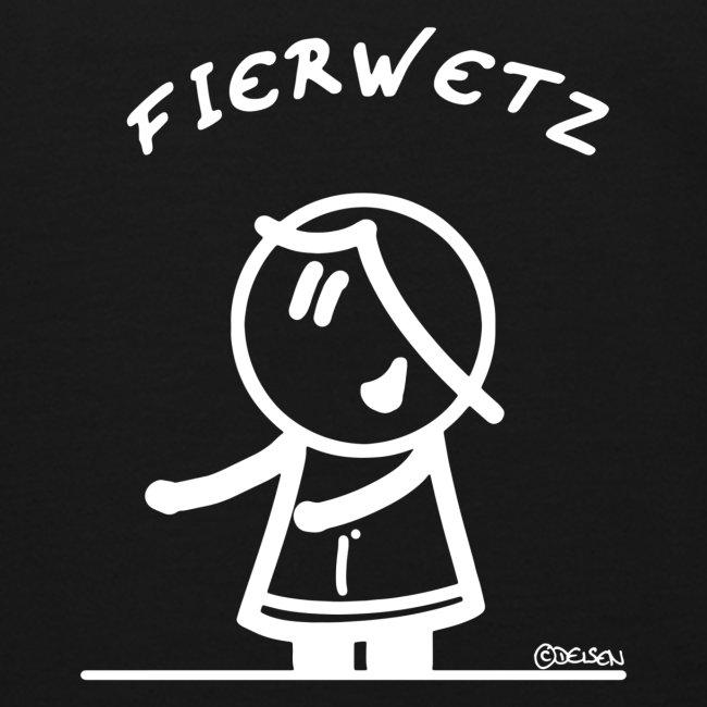 """De """"Fierwetz"""" by DEISEN Design weiß"""