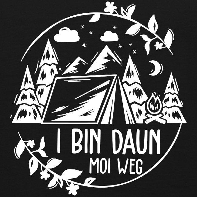 Vorschau: I bin daun moi weg - Kinder Bio-T-Shirt