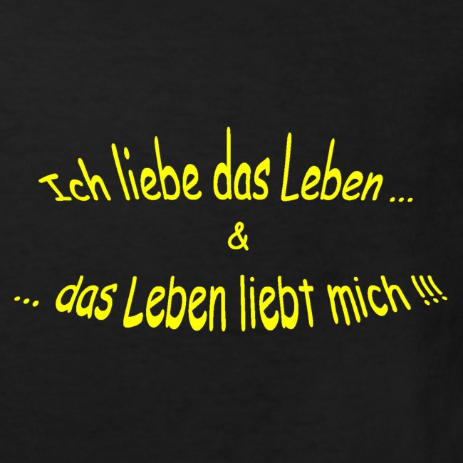 Ich-liebe-das-Leben-gelb