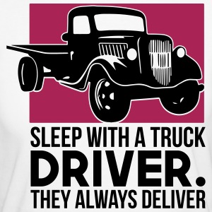 Sleep with a truck driver - Frauen Bio-T-Shirt